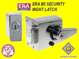 What front door locks and where,