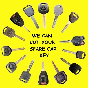 how to get a car key cut without the key