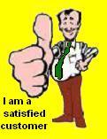 Happy customer through keyholding service
